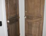 Massief eiken deurtjes